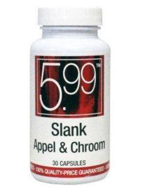 Slank Slank Appel Met Chroom 5.99 - 30 Capsules