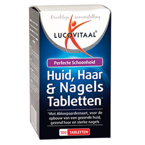 LUCOVITAAL Lucovitaal Huid, Haar, Nagel - 100 Tabletten