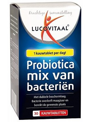 Lucovit Lucovit Probiotica Darmflora - 30 Tabletten