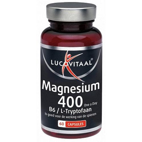 LUCOVITAAL Lucovitaal Magnesium 400 L-Tr - 60 Capsules