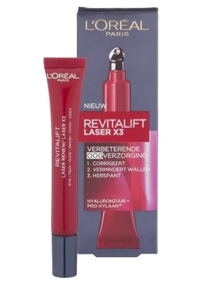 Loreal Dermo Expertise Revitalift Laser X3 Oogcreme - 15 Ml