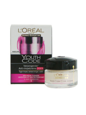 Loreal Dermo Expertise Youth Code Oogcreme - 15 Ml