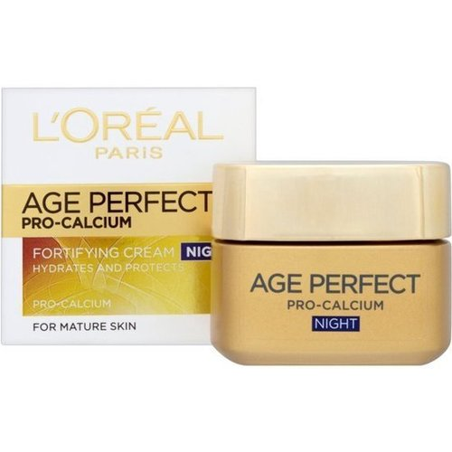 Loreal Dermo Expertise Age Perfect Pro-Calcium Nacht - 50 Ml