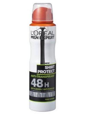Loreal Men Expert Deospray Sos Protect Shirt - 150 Ml