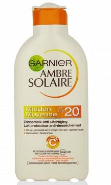 Image of Garnier Garnier Ambre Solaire Zonnemelk Spf 20 - 200 Ml