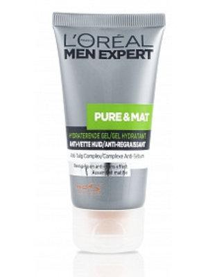 Loreal Men Expert Pure En Mat Gel - 50 Ml