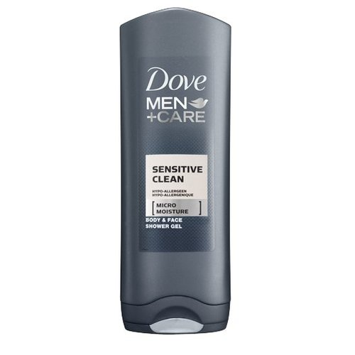 Dove Dove Men Showergel Sensitive Clean - 250 Ml