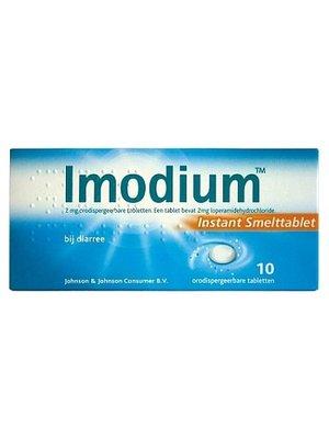 Imodium Imodium Smelttablet 2 Mg - 10 Tabletten