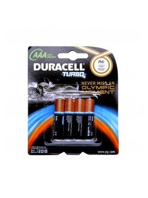DURACELL DURACELL TURBO AAA - 4 STUKS