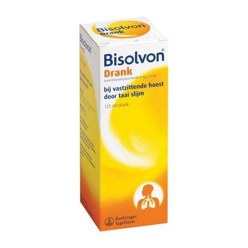 Bisolvon Bisolvon Elixer Forte 8mg/5ml - 125 Ml