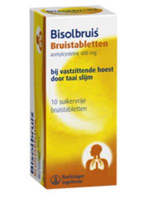 Bisolbruis Bisolbruis 600 Bruistabletten - 10 Tabletten