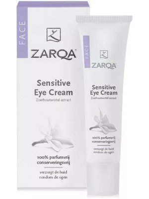 Zarqa Zarqa Sensitive Face Oogcreme - 15 Gram