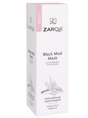 Zarqa Zarqa Body Black Mud Mask - 150 Ml