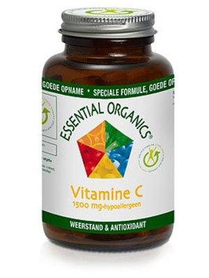 Essencial organics Essentail Organics Vitamine C 1500mg Hypoallergeen- 75 Tabletten