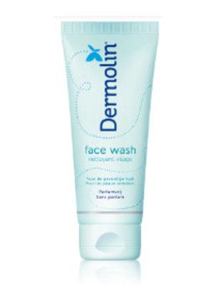 Dermolin Dermolin Facewash Sulfaatvrij - 100 Ml
