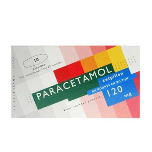 Leidapharm Leidapharm Paracetamol Zetpil 120 Mg - 10 Zetpillen