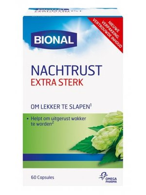Bional Bional Nachtrust Extra Sterk  - 60 Capsules