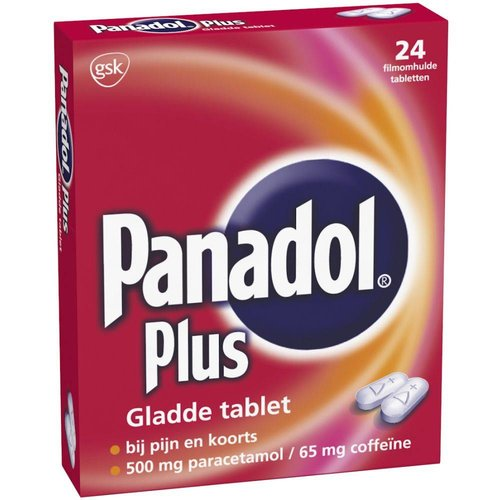 Panadol Panadol Plus Glad - 24 Tabletten