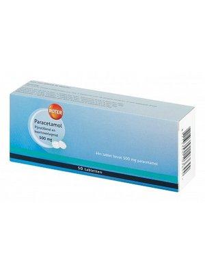 Roter Roter Paracetamol 500mg - 50 Tabletten