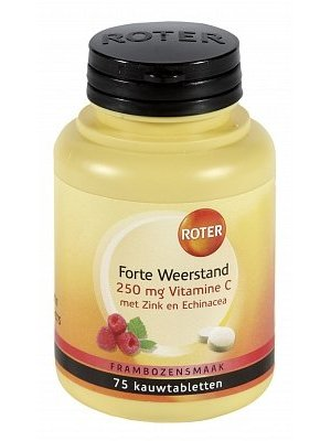 Roter Roter Vit C Forte Weerstand - 75 Tabletten