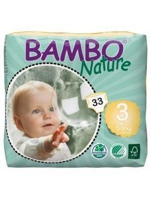 Bambo Bambo Luiers Nature Midi 5-9 Kilo - 33 Stuks