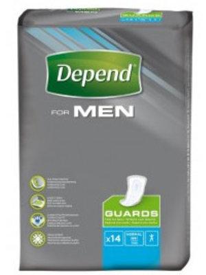 Depend Men Guards - 14 Stuks