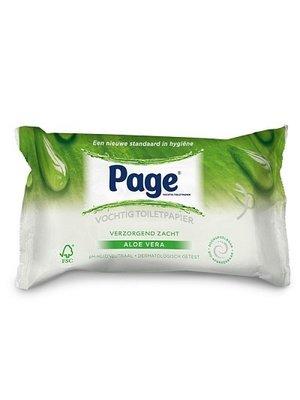 Page Page Vochtig Toiletpapier Aloe Vera Navul - 42 Stuks