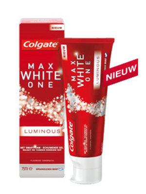 Colgate Colgate Max Tandpasta White One Luminous - 75 Ml uitverkocht!!!!!