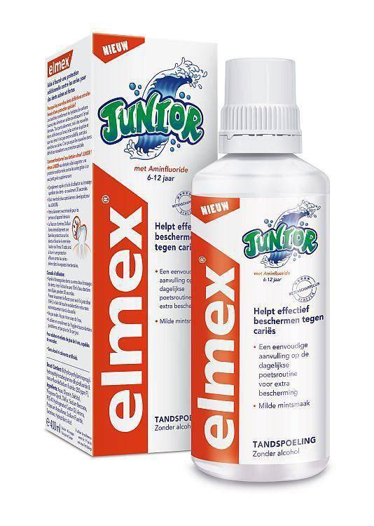 Image of Elmex Elmex Mondwater Junior - 400 Ml