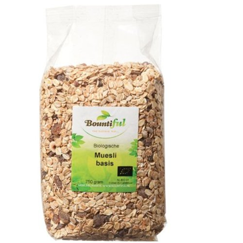 Bountiful Bountiful Muesli Basis - 750 Gram