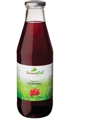 Bountiful Bountiful Cranberry Sap - 750 Ml