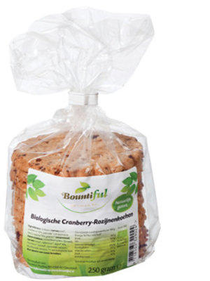 Bountiful Bountiful Cranberry Rozijnkoek - 250 Gram