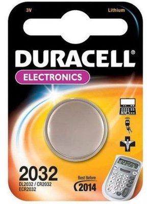 DURACELL DURACELL 3VOLT CR 2032 -2  STUKS