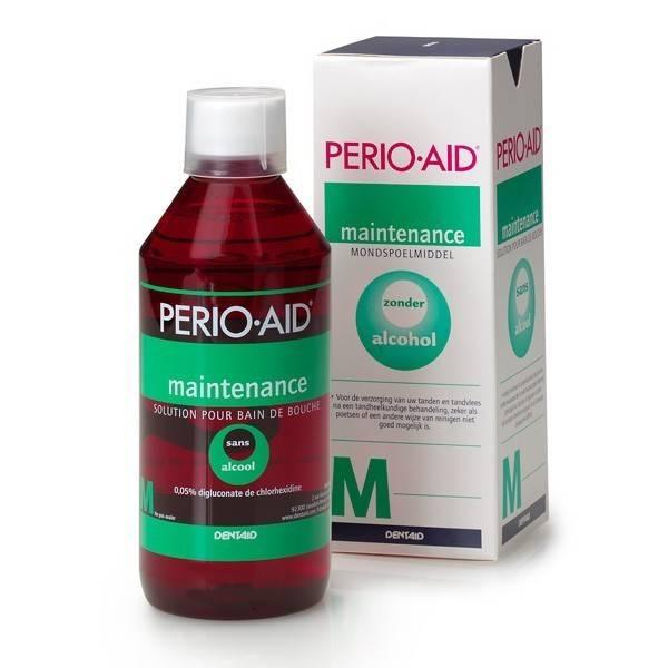 Image of Perio-Aid Perio-Aid Mondspoeling Maintenance - 500 Ml