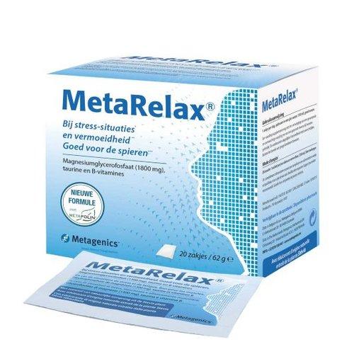 Metagenics Metagenics Metarelax - 20 Zakjes