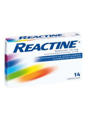 Reactine Reactine allergie tabletten 10 Mg - 14 Tabletten