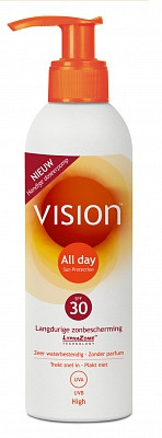Image of Vision Vision All Day Sun Spf 30 Pomp - 200 Ml