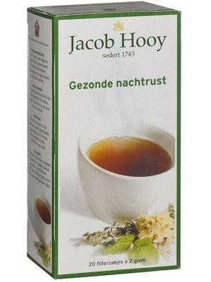 Jacob Hooy Jacob Hooy Thee Nachtrust Zakjes - 20 Zakjes