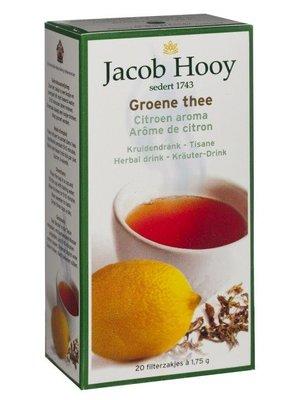 Jacob Hooy Jacob Hooy Thee Groene Thee / Lemon - 20 Zakjes