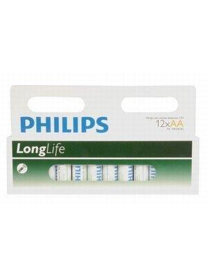 Philips PHILIPS BATTERIJ R6 AA - 12 STUKS