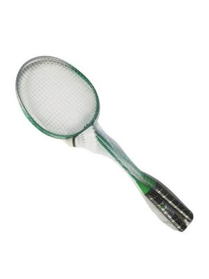 Badmintonracket Badmintonracket & Shuttle In Net1 Stuks
