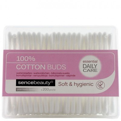 Image of SENCEBEAUTY Sencebeauty Cotton Wattenstaafjes - 200 Stuks