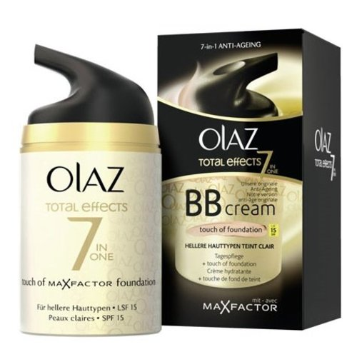 Oil of Olaz Oil Olaz Total Effect 7 In 1 Bb Creme + Foundation Light - 50 Ml