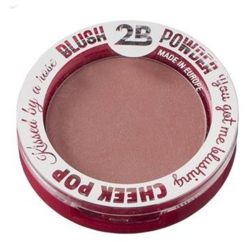 2b 2B BLUSH POWDER CHEEK POP 2 - 1 STUKS