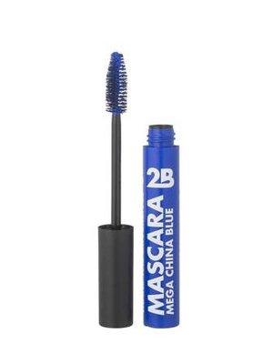 2b 2B MASCARA COLORS MAKE THE DIFFERENCE 02 CHINA BLUE - 1 STUKS