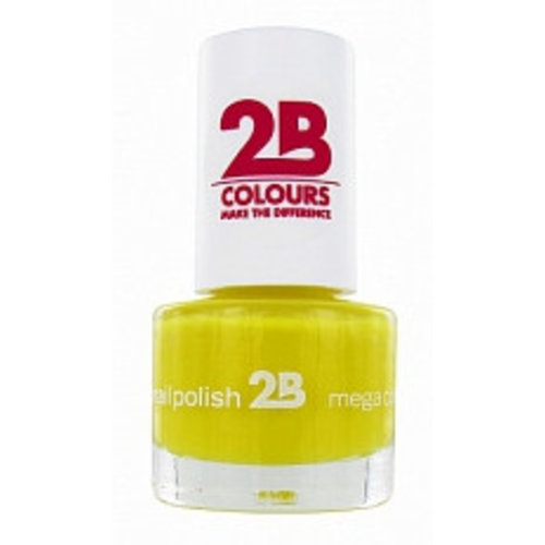 2b 2B NAGELLAK MEGA COLOURS MINI 15 YELLOW SUN - 1 STUKS