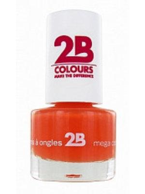 2b 2B NAGELLAK MEGA COLOURS MINI 16 LIGHT ORANGE - 1 STUKS