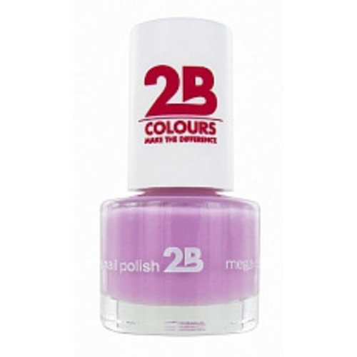2b 2B NAGELLAK MEGA COLOURS MINI 21 LAVENDER DREAM - 1 STUKS