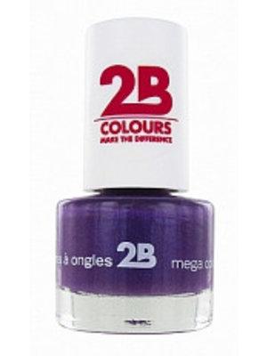 2b 2B NAGELLAK MEGA COLOURS MINI 22 RICH LAVENDER - 1 STUKS