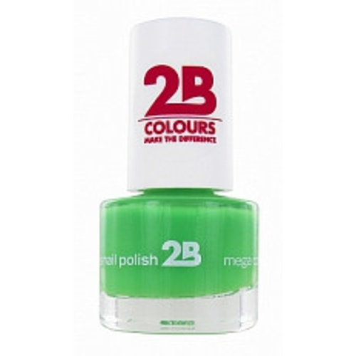 2b 2B NAGELLAK MEGA COLOURS MINI 24 SPRING GREEN - 1 STUKS